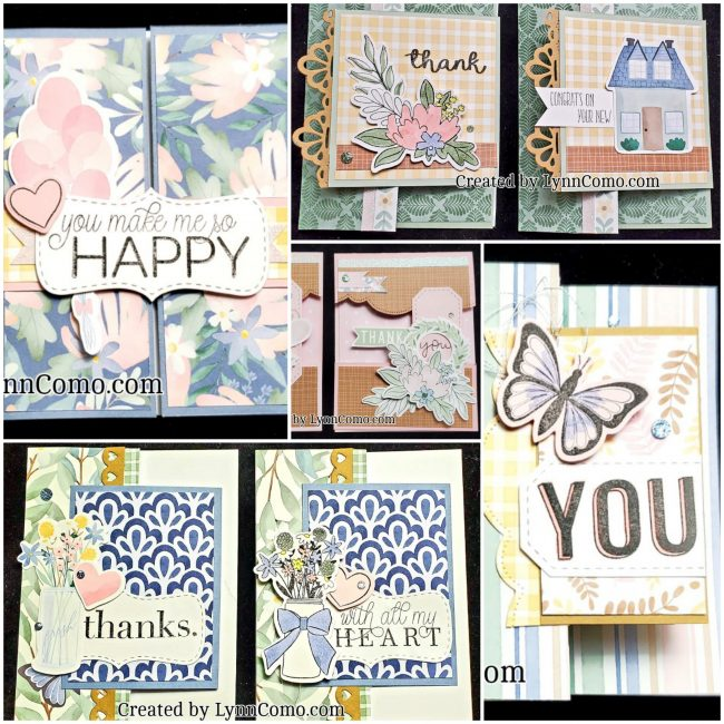 Lovely Special Fold Cards