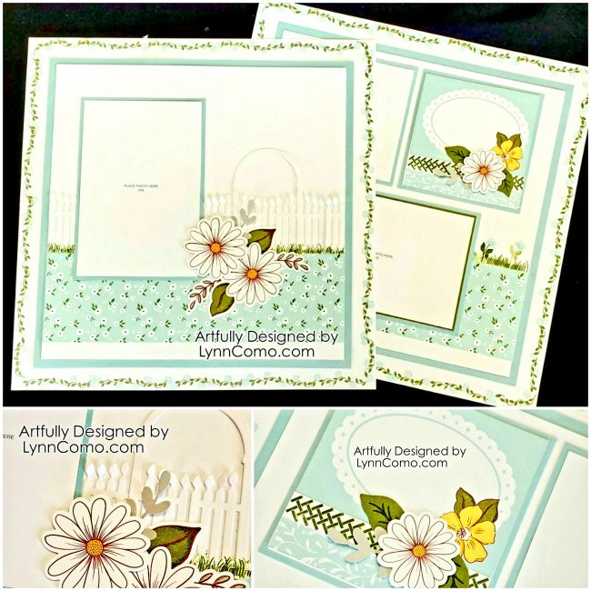 Daisy Meadows Scrapbooking with Gate